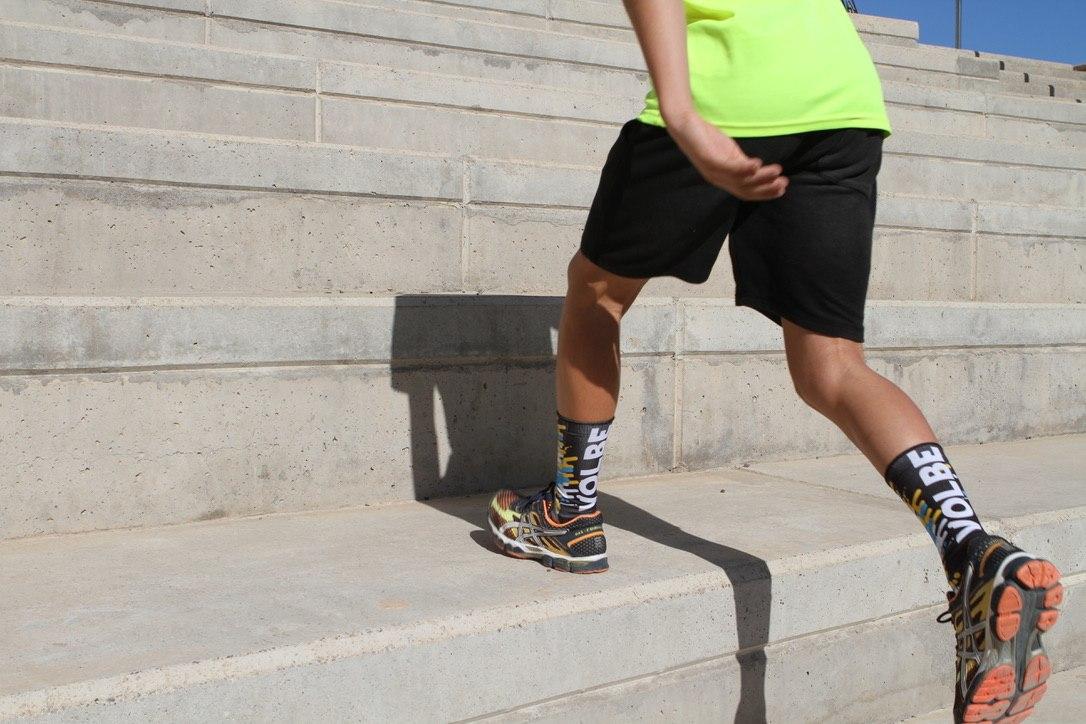 calcetines para correr y crossfit bandera volbe